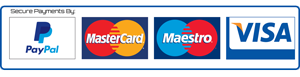 All Major Credit and Debit Cards